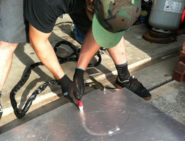 custom aluminum sportster seat pan